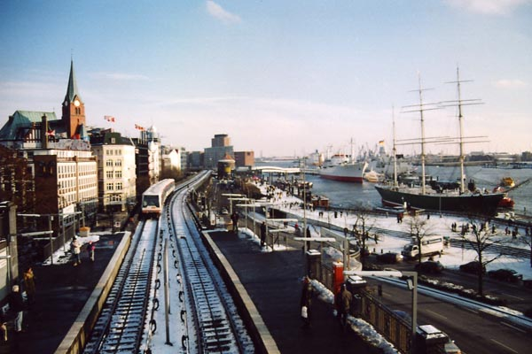 Hamburger Impressionen Hafen
